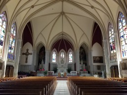 St. Thomas Church was renovated with sound and video systems by JD Pro.